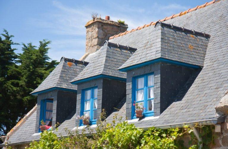Слуховое окно на крыше, конструкции и чертежи