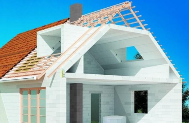 как строить дом из газобетона