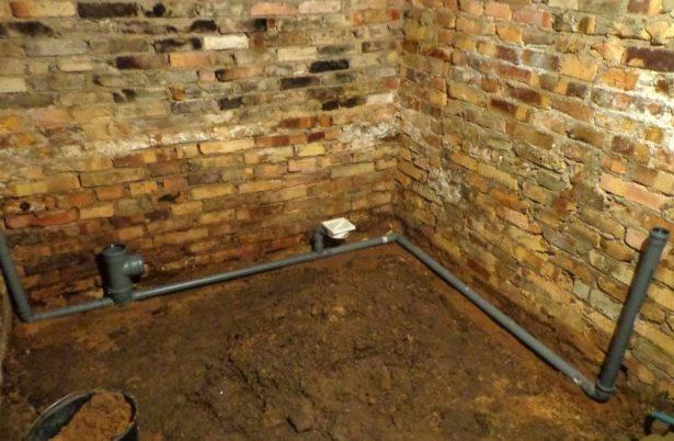 уклон канализационной трубы для внутренней и наружной канализации