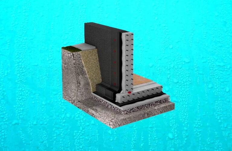 гидроизоляция фундамента - как правильно сделать