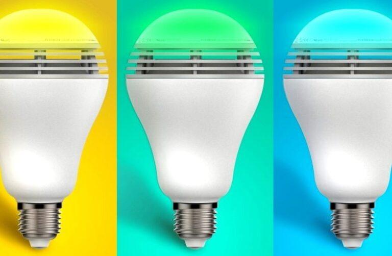 светодиодное освещение дома, спектральный анализ