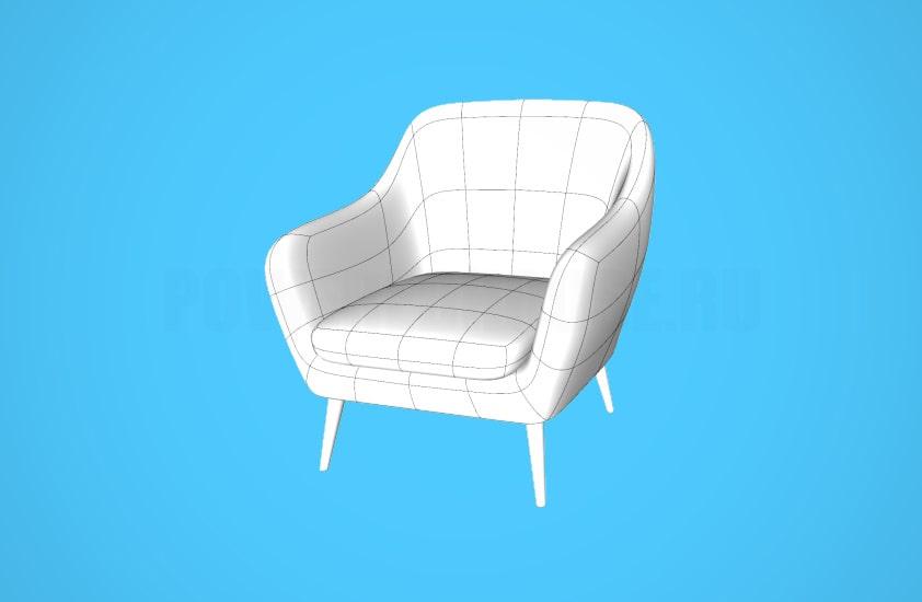 мебель для sketchup (скетчап) - 3D модели, скачать