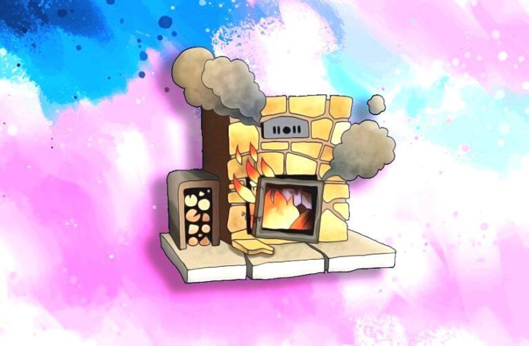 почему дымит печь в доме